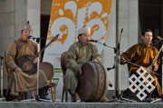 "Tuvan ""ShaaLaash"" sounded at the opening of ""Nauruz"" in Kazan"