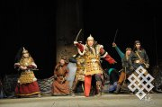 Tuvan theatre reminded Turks about brotherhood