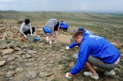 July finds by archeological expedition of Russian Geographic society
